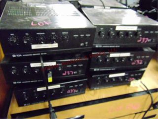 6 TOA integrated amplifiers BG 1015