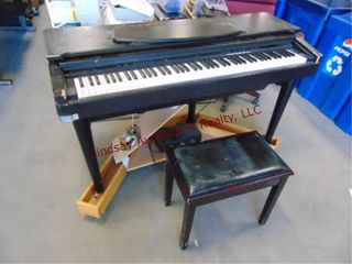Yamaha Clavinova electric piano w  stool