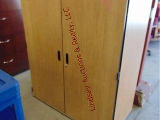 2 door cabinet 48 x 24 x 60