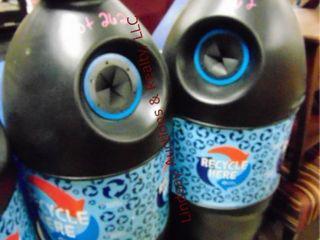 2 pepsi recyle bottle shaped bins 20 x 58