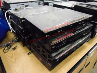 8 lG Dvd vhs video recorder players