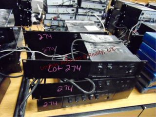 6 integrated amplifiers BG115
