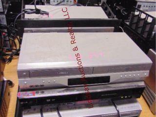 8 Dvd vhs video players various brands