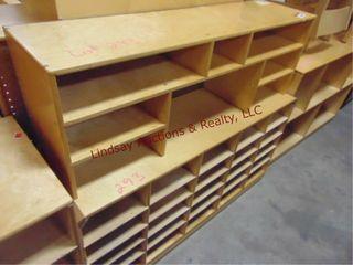 2 pc cubby   sorter shelf 47 x 42 x 14 5