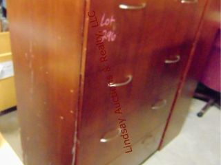 4 drawer lateral DK wood file cabinet 36 x 24 x 56