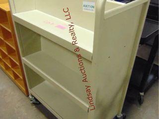 Rolling book cart 30 x 17 25 x 47
