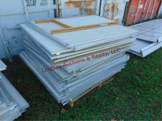 Pallet of approx 40 bulletin boards 48x48