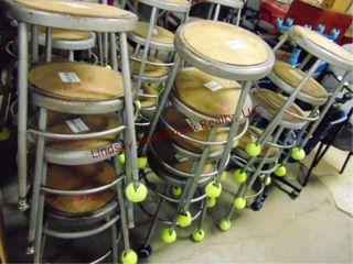 12 stools