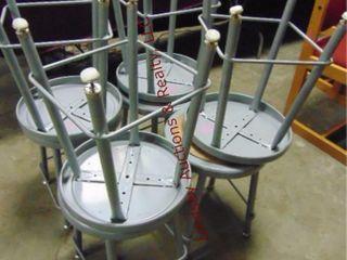 8 stools