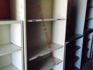 1 metal shelf 34 5  x 12 5  x 78
