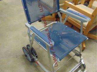 Rolling handicap chair