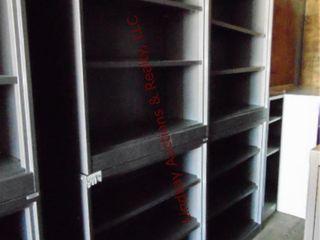 4 metal shelves 36  x 15  x 41