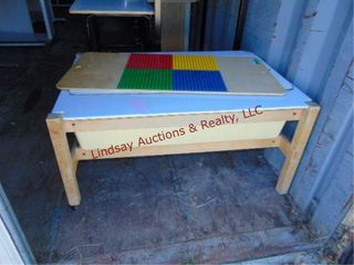 Rolling activity table for lego building   other