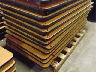 1 pallet w  12 folding tables 60 x 30