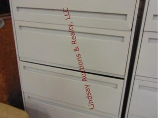 5 drawer metal lateral file cabinet 36x 19x 67