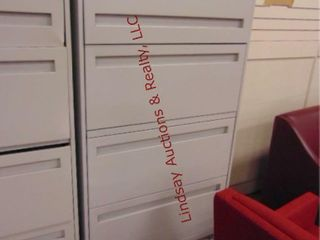 5 drawer metal lateral file cabinet 30x 19x 67