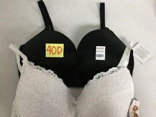 2 PCS SMART   SEXY WOMENS BRA SIZE 40D