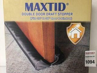 MAXTID DOUBlE DOOR DRAFT STOPPER
