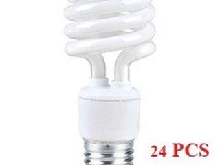 24 PCS ElUME lIGHT SPIRAl BUlBS CF13