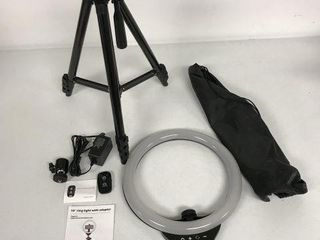 10 INCHES RING lIGHT WITH ADAPTER