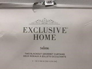 FINAl SAlE W  STAIN EXClUSIVE HOME TWO BlACKOUT