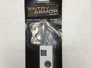 ENTRY ARMOR PATIO DOOR lOCK   KEYED