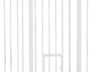 CARlSON WAlK TROUGH GATE WITH SMAll PET DOOR