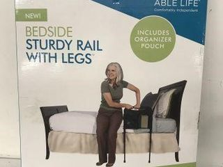ABlE lIFE BED SIDE STURDY RAIl WITH lEGS