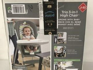 INGENUITY TRIO 3IN1 HIGH CHAIR AGE 6MONTHS 5YEARS