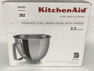 KITCHENAID STAINlESS STEEl MIXING BOWl WITH