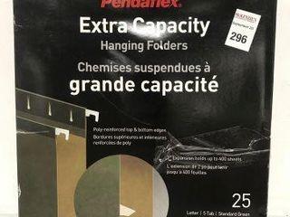 PENDAFlEX EXTRA CAPACITY HANGING FOlDERS