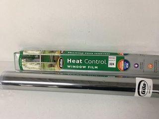 GIlA HEAT CONTROl WINDOW FIlM 3FT X 15FT