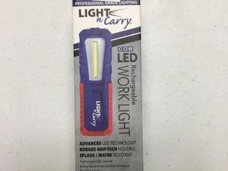 lIGHT AND CARRY RECHARGEABlE WORK lIGHT