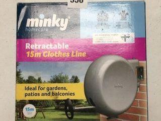 MINKY HOMECARE RETRACTABlE 15M ClOTHES lINE