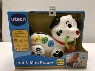 V TECH PUll AND SING PUPPY