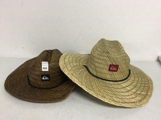 2 PCS QUICKSIlVER STRAW HAT
