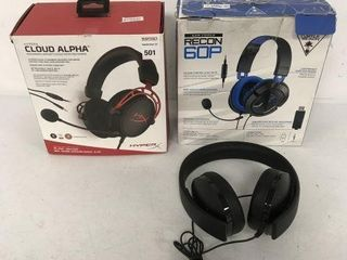 FINAl SAlE ASSORTED HEADSET  ONE SIDE NOT WORKING