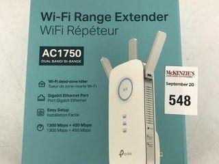 TP lINK RE450 WI FI RANGE EXTENDER
