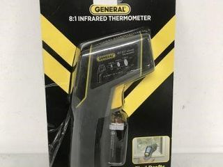 GENERAl IRT207 8 1 INFRARED THERMOMETER