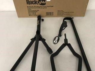 ROCK JAM FOlDING NECK GUITAR STAND TRIPOD