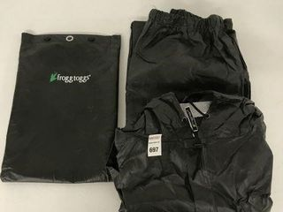 FROGG TOGGS MEN S RAIN SUIT SIZE EXTRA lARGE