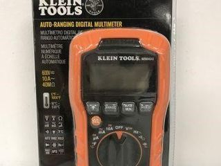 KlEIN TOOlS AUTO RANGING DIGITAl MUlTIMETER