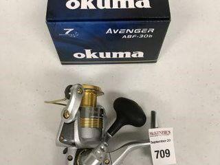 OKUMA AVENGER SPINING REEl