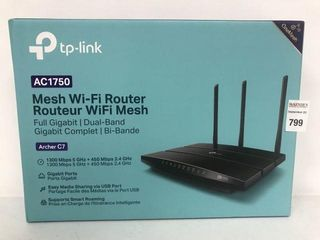 TP lINK AC1750 MESH WIFI ROUTER