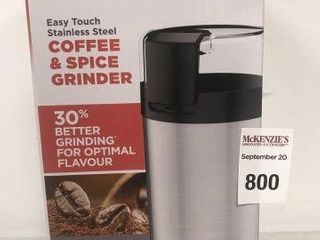 BlACK AND DECKER COFFEE AND SPICE GRINDER