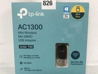 TP lINK ARCHER T3U MINI WIRElESS MU MIMO USB