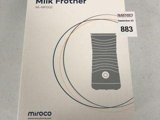 MIROCO MIlK FROTHER MI MFOO2