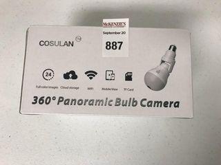 COSUlAN 360 PANORAMIC BUlB CAMERA