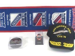 Four Sports Items- Baseball Style Cap Honoring