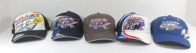 Five New Indianapolis Gp Ball Caps - 2008, 2010,